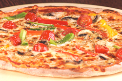 Vegetarisk pizza